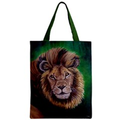 Lion Classic Tote Bag by ArtByThree