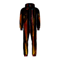 Colorful Space Needle Hooded Jumpsuit (kids) by stineshop