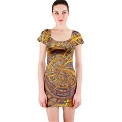 Short Sleeve Bodycon Dress by MoreColorsinLife