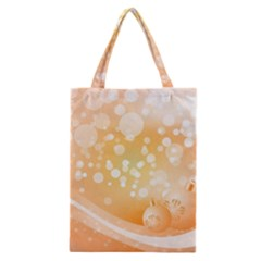 Wonderful Christmas Design With Sparkles And Christmas Balls Classic Tote Bags by FantasyWorld7