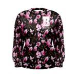 flower dress - Women s Sweatshirt