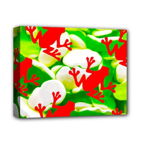 Box of Frogs  Deluxe Canvas 14  x 11  by essentialimage
