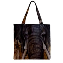 In the Mist Zipper Grocery Tote Bags by timelessartoncanvas