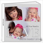 Smith Family 2014 - 12x12 Photo Book (20 pages)