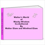 Walter - 6x4 Photo Book (20 pages)