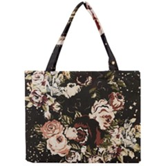 Dark Roses Tiny Tote Bags by LovelyDesigns4U