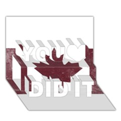 Style 8 You Did It 3d Greeting Card (7x5) by TheGreatNorth
