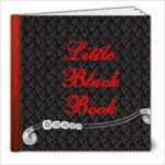 Michelle Hahns Little Black Book - 8x8 Photo Book (20 pages)