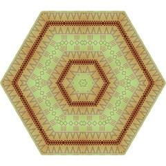 Aztec Pattern Umbrella by LalyLauraFLM