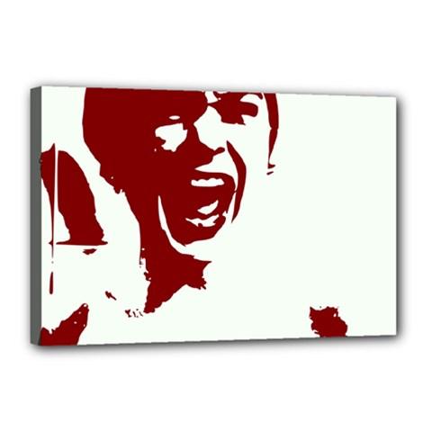 Psycho Canvas 18  X 12  by icarusismartdesigns