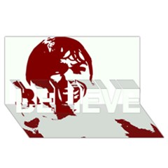 Psycho Believe 3d Greeting Card (8x4)  by icarusismartdesigns
