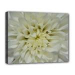 White Flowers Canvas 14  x 11