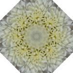 White Flowers Folding Umbrellas