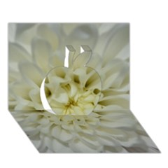 White Flowers Apple 3d Greeting Card (7x5)  by timelessartoncanvas