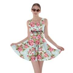 Raining Roses Skater Dress by TrishRose