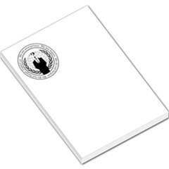 Anonymous Seal  Large Memo Pads by igorsin