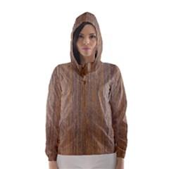 Walnut Hooded Wind Breaker (women) by trendistuff