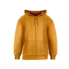 HONEY MAPLE Kids Zipper Hoodies by trendistuff