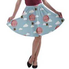 A-line Skater Skirt by Kathrinlegg