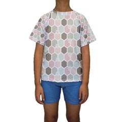 Spring Bee Kid s Short Sleeve Swimwear