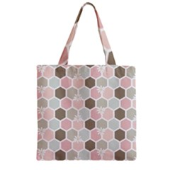 Spring Bee Zipper Grocery Tote Bags by Kathrinlegg
