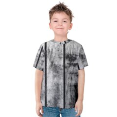 BLACK AND WHITE FENCE Kid s Cotton Tee