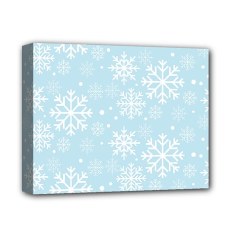 Frosty Deluxe Canvas 14  X 11  by Kathrinlegg