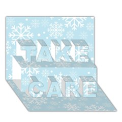 Frosty Take Care 3d Greeting Card (7x5)  by Kathrinlegg