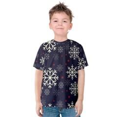 Snowflake Kid s Cotton Tee