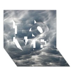Storm Clouds 2 Love 3d Greeting Card (7x5)  by trendistuff