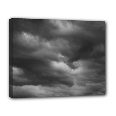 Storm Clouds 1 Canvas 14  X 11  by trendistuff