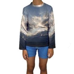 HEAVEN RAYS Kid s Long Sleeve Swimwear by trendistuff