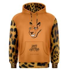 Dirty Cheetah Orange Men s Pullover Hoodie by DirtyCheetahs