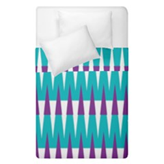 Peaks Pattern  Duvet Cover (single Size) by LalyLauraFLM