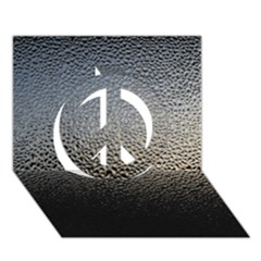 Water Drops 1 Peace Sign 3d Greeting Card (7x5)  by trendistuff