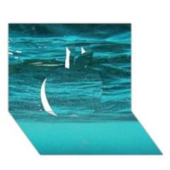 Underwater World Apple 3d Greeting Card (7x5)