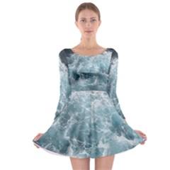Long Sleeve Skater Dress by trendistuff
