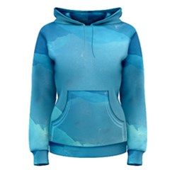 Light Turquoise Ice Women s Pullover Hoodies by trendistuff