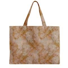 Tan Marble Zipper Tiny Tote Bags by trendistuff