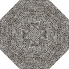 Stone Wall Grey Folding Umbrellas by trendistuff