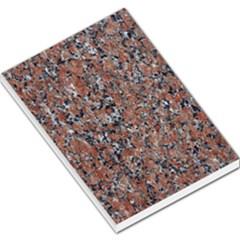 Granite Red Black Large Memo Pads