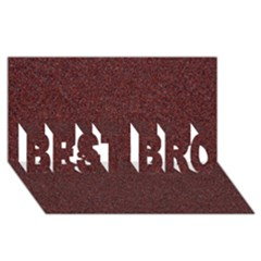 Granite Red 1 Best Bro 3d Greeting Card (8x4)  by trendistuff