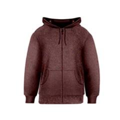 Granite Red 1 Kids Zipper Hoodies by trendistuff