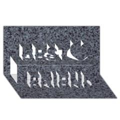 Granite Blue Black 3 Best Friends 3d Greeting Card (8x4)  by trendistuff