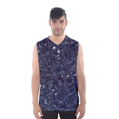 Granite Blue Black 1 Men s Basketball Tank Top