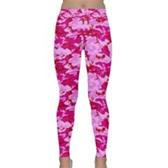 CAMO PINK Yoga Leggings by trendistuff