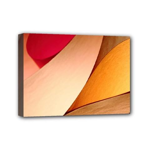 Pretty Abstract Art Mini Canvas 7  X 5  by trendistuff