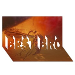 Mosquito In Amber Best Bro 3d Greeting Card (8x4)  by trendistuff