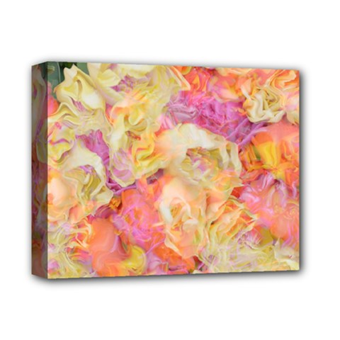 Soft Floral,roses Deluxe Canvas 14  x 11  by MoreColorsinLife