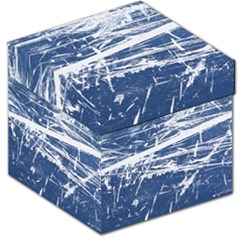 Blue And White Art Storage Stool 12   by trendistuff